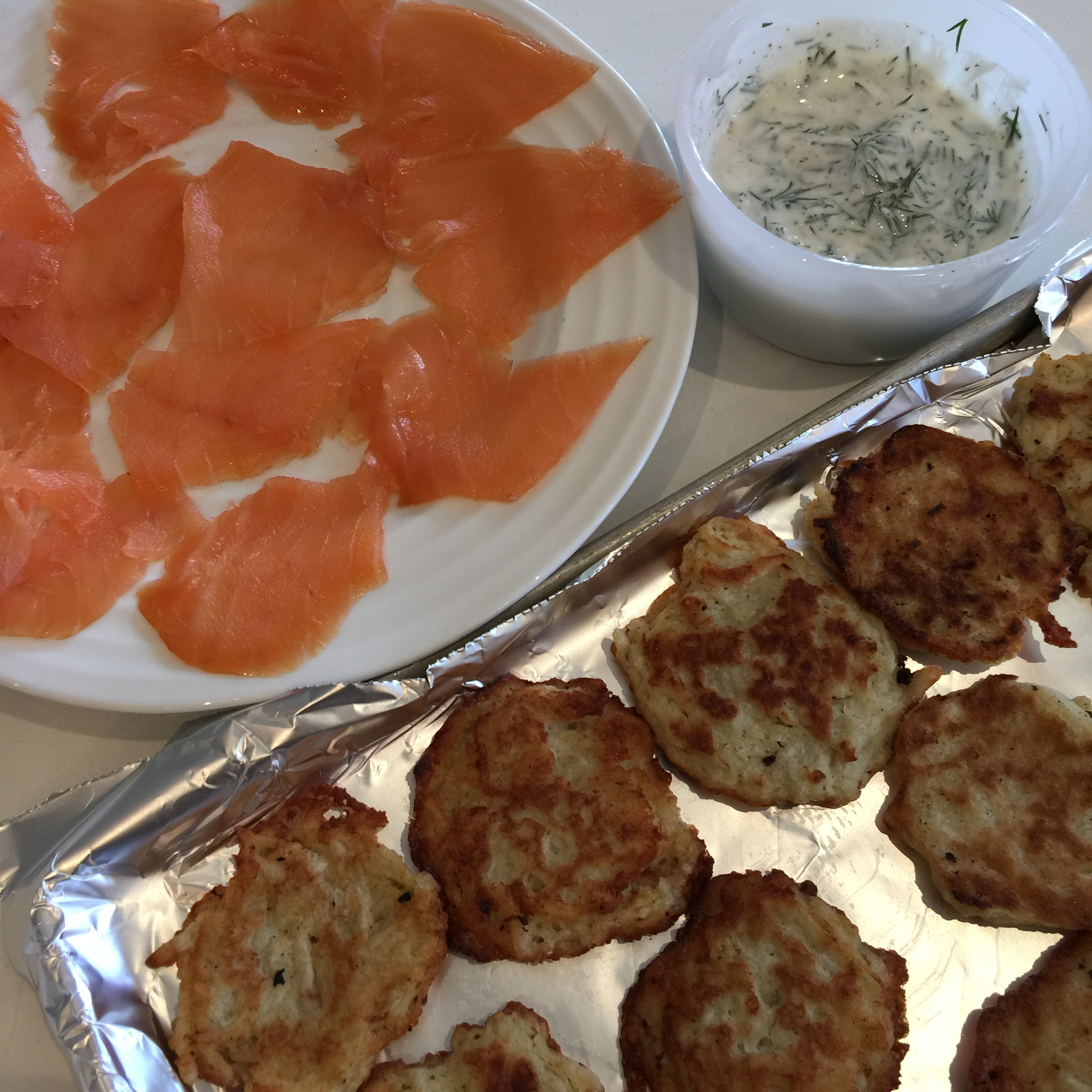 potato blinis, potato latkes, side dish, hors doeuvres, potato, latke, smoked salmon