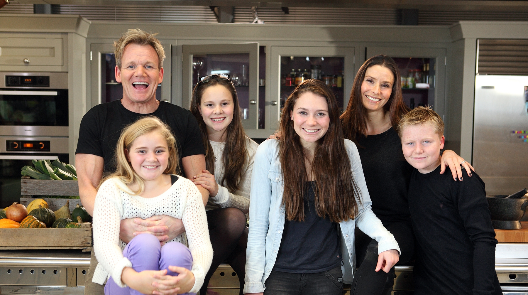 gordon ramsay and his family