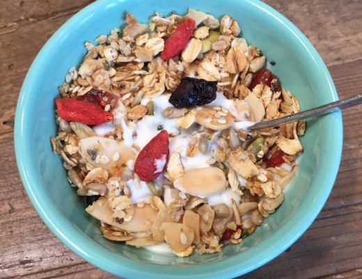 homemade granola, cereal, granola
