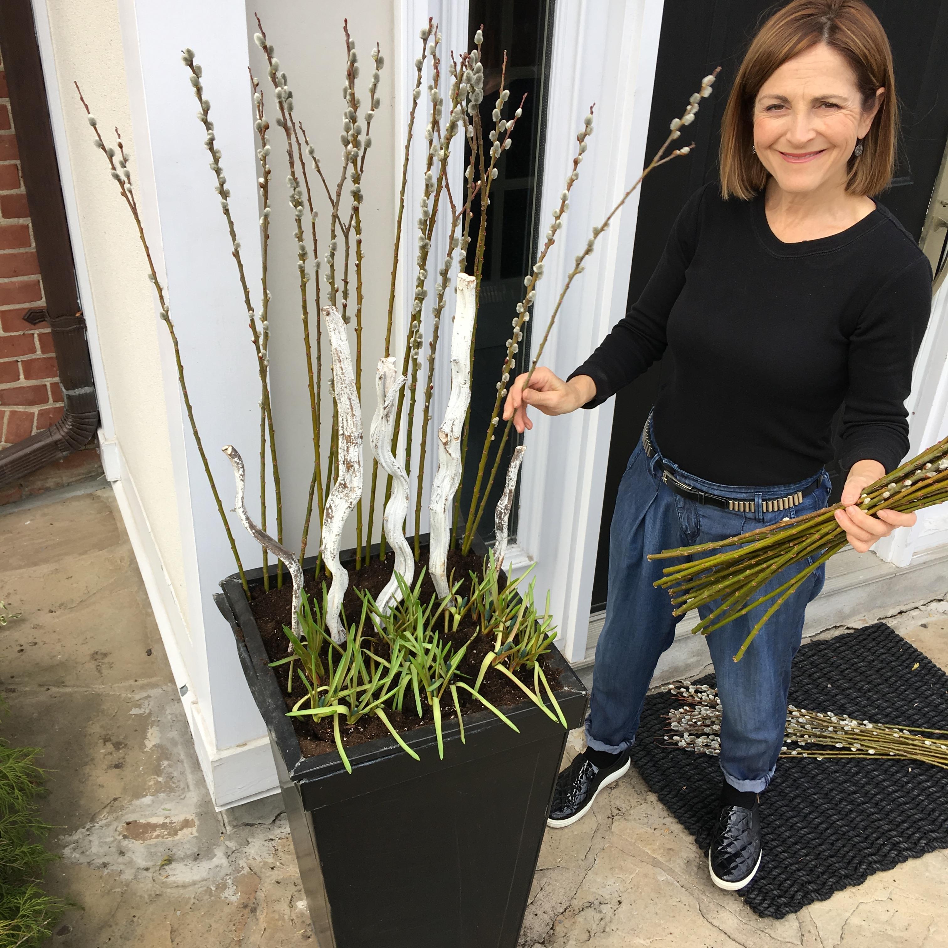 spring planter, design, garden pots, gardening, planters, how-to, spring